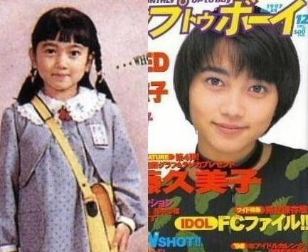 遠藤久美子昔の写真(子供の頃)