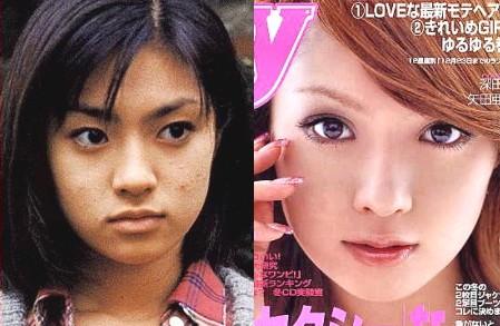 デビュー当時と現在の深田恭子比較写真