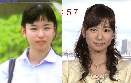 めざましTVお天気お姉さん皆藤愛子の過去と現在の写真